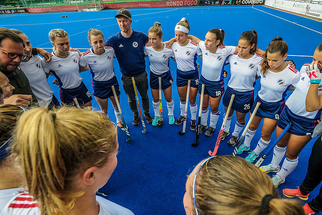 Krefeld, Germany, August 28: During the women semi-final fieldhockey match between Mannheimer HC and Berliner HC on August 28, 2021 at the 1. Liga-Cup at Crefelder HTC in Krefeld, Germany. (Photo by Dirk Markgraf / www.265-images.com) *** Local caption ***