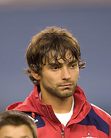 Chicago Fire midfielder Baggio Husidic (9). The New England Revolution tied the Chicago Fire, 0-0, at Gillette Stadium on October 17, 2009.