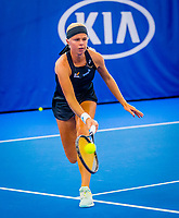 Amstelveen, Netherlands, 17  December, 2020, National Tennis Center, NTC, NK Indoor, National  Indoor Tennis Championships,   :  Eva Vedder (NED) <br /> Photo: Henk Koster/tennisimages.com