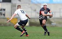 Wednesday 6th March 2019   Ulster Schools Cup - Semi Final 2<br /> <br /> Ben Carson during the Ulster Schools Cup semi-final between MCB and Wallace High School at Kingspan Stadium, Ravenhill Park, Belfast, Northern Ireland. Photo by John Dickson / DICKSONDIGITAL