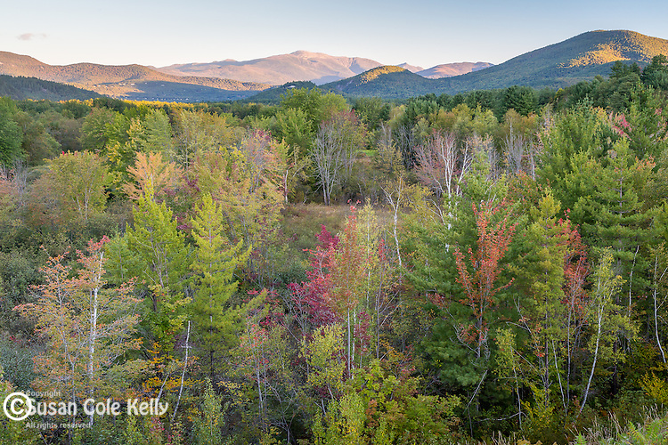 Mount Washington in the White Mountain National Forest, New Hampshire, USA