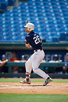 Joe Mack (26) of Williamsville East High School in Williamsville, NY during the Perfect Game National Showcase at Hoover Metropolitan Stadium on June 19, 2020 in Hoover, Alabama. (Mike Janes/Four Seam Images)