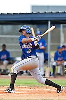 Alexander Sanchez of the Gulf Coast League Mets during the game against the Gulf Coast League Nationals June 27 2010 at the Washington Nationals complex in Viera, Florida.  Photo By Scott Jontes/Four Seam Images