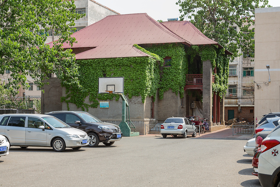 Japanese guard quarters.