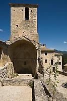 Europe/France/Rhône-Alpes/26/Drôme/Le Poët-Laval:Ancienne commanderie de l'ordre de Malte -  Chapelle Saint-Jean-des-Commandeurs