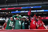 10th October 2021; Tottenham Hotspur stadium, London, England; NFL UK Series, Atlanta Falcons versus New York Jets: Fans are seen in the crowd