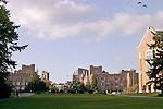 Seattle, University of Washington, Rainier Vista, looking north, architecture, campus buildings, Washington State, Pacific Northwest, USA,.