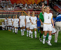 Christie Rampone. The USWNT defeated Japan, 4-2, during the semi-finals of the Beijing 2008 Olympics in Beijing, China.