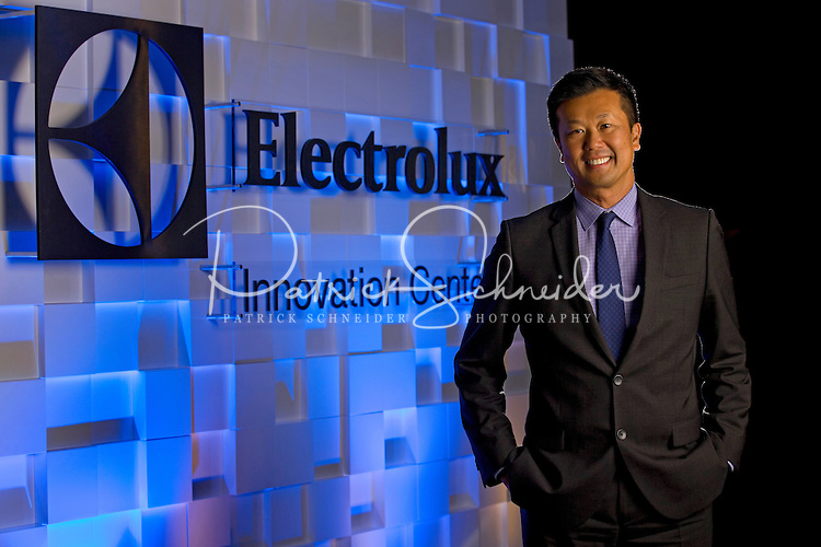 Jack Truong, is President & CEO, Electrolux North America; Executive Vice President, AB Electrolux at their Charlotte North Carolina headquarters.<br /> <br /> Charlotte Photographer - Patrick SchneiderPhoto.com