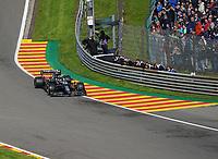 27th August 2021; Spa Francorchamps, Stavelot, Belgium: FIA F1 Grand Prix of Belgium, free practise:   Sebastian Vettel DEU 5 , Aston Martin Cognizant Formula One Team