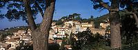 Europe/Provence-Alpes-Côte d'Azur/83/Var/Bormes-les-Mimosas : Vue du village