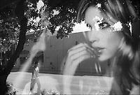 "Lincoln Road<br /> From ""Miami in Black and White"" series. Miami Beach, 2010"