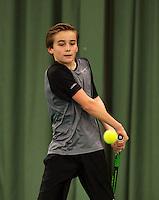 March 8, 2015, Netherlands, Rotterdam, TC Victoria, NOJK, Daniel Bernard (NED)<br /> Photo: Tennisimages/Henk Koster