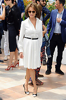 CANNES, FRANCE - MAY 26: (L-R) Actors Jeremie Renier, Jacqueline Bisset, Director Francois Ozon and actress Marine Vacth attend the 'Amant Double (L'Amant Double')' Photocall during the 70th annual Cannes Film Festival at Palais des Festivals