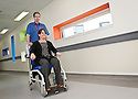 ::  SERCO Finance Director, Hugh Fitzsimmons, spends the day working as a Porter at Forth Valley Royal Hospital ::