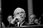 Sir Alec Douglas Home MP. Conservative Party Conference, Blackpool, Winter Gardens 1973 Lancashire UK