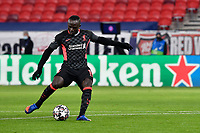 16th February 2021, Puskas Arena, Budapest, Hungary; Champions League football, FC Leipig versus Liverpool FC;   Liverpool's Sadio Mane in action.
