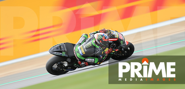 Hafizh Syahrin (55) of the Monster Yamaha Tech 3 race team during the GoPro British MotoGP at Silverstone Circuit, Towcester, England on 24 August 2018. Photo by Chris Brown / PRiME Media Images