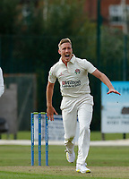 21st September 2021; Aigburth, Merseyside, England; County Championship Cricket, Lancashire versus Hampshire, Day 1; Luke Wood of Lancashire