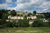 Private and social housing in Nailsworth, Gloucestershire.