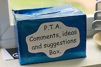State Primary School.  Parent Teacher Association ideas box..