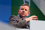 © Joel Goodman - 07973 332324  . 04/10/2011 . Manchester, UK . MICHAEL GOVE at the 2011 Conservative Party Conference at the Manchester Central Convention Centre (formerly GMex) . Photo credit: Joel Goodman