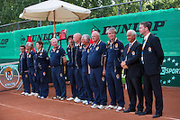 10-08-13, Netherlands, Rotterdam,  TV Victoria, Tennis, NJK 2013, National Junior Tennis Championships 2013,  Umpires and linespersons<br /> <br /> Photo: Henk Koster