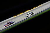 #11: Denny Hamlin, Joe Gibbs Racing, Toyota Camry FedEx Express and #9: Chase Elliott, Hendrick Motorsports, Chevrolet Camaro NAPA Auto Parts