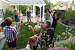 Tanya and Paul's proposal and wedding surrounded by family.
