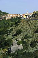 Landschaft bei Sedini, Provinz Sassari, Nord - Sardinien, Italien
