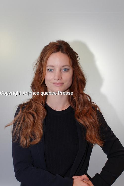 FILE PHOTO -   Laurence Leboeuf, septembre 2015<br /> <br /> <br /> PHOTO :   Agence quebec Presse