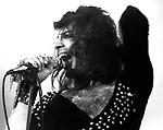 Queen 1974 Freddie Mercury<br /> © Chris Walter