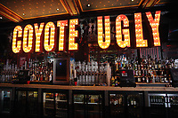 Pictured: Interior view Monday 15 May 2017<br /> Re: Coyote Ugly Saloon in Cardiff, Wales, UK.
