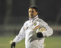 Belgium - Austria : bondscoach Ives Serneels.foto DAVID CATRY / Vrouwenteam.be