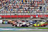 #18: Kyle Busch, Joe Gibbs Racing, Toyota Camry M&M's, #20: Erik Jones, Joe Gibbs Racing, Toyota Camry Craftsman ACE/CMN, #95: Christopher Bell, Leavine Family Racing, Toyota Camry Rheem, #11: Denny Hamlin, Joe Gibbs Racing, Toyota Camry FedEx Ground