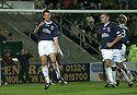 29/12/2007    Copyright Pic: James Stewart.File Name : sct_jspa08_falkirk_v_hearts.CARL FINNIGAN CELEBRATES AFTER HE SCORES FALKIRK'S FIRST GOAL....James Stewart Photo Agency 19 Carronlea Drive, Falkirk. FK2 8DN      Vat Reg No. 607 6932 25.Office     : +44 (0)1324 570906     .Mobile   : +44 (0)7721 416997.Fax         : +44 (0)1324 570906.E-mail  :  jim@jspa.co.uk.If you require further information then contact Jim Stewart on any of the numbers above.........