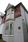 The semi detached house in Cwmdonkin Drive in the Uplands district of Swansea where the Welsh poet Dylan Thomas was born.