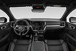 Stock photo of straight dashboard view of 2021 Volvo S60-Recharge Polestar 4 Door Sedan Dashboard
