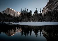 Yosemite in winter.