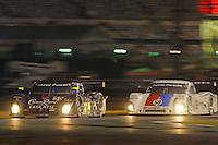 #55 Crown Royal-NPN Racing BMW/Riley and #59 Brumos Porsche/Riley