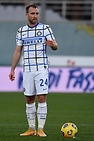 Christian Eriksen of FC Internazionale during the Italy Cup round of 16 football match between ACF Fiorentina and FC Internazionale at Artemio Franchi stadium in Firenze (Italy), January 13th, 2021. Photo Andrea Staccioli / Insidefoto
