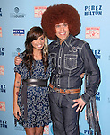 Perez Hilton and Christina Perri attends Perez Hilton's Blue Ball held at Siren Studios in West Hollywood, California on March 26,2011                                                                               © 2010 DVS / Hollywood Press Agency