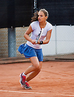 08-08-13, Netherlands, Rotterdam,  TV Victoria, Tennis, NJK 2013, National Junior Tennis Championships 2013,  Phillis Vanenburg<br /> <br /> <br /> Photo: Henk Koster