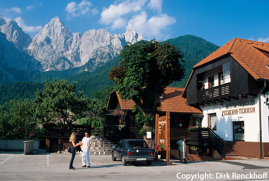 Slowenien, Triglav-Gebirge.
