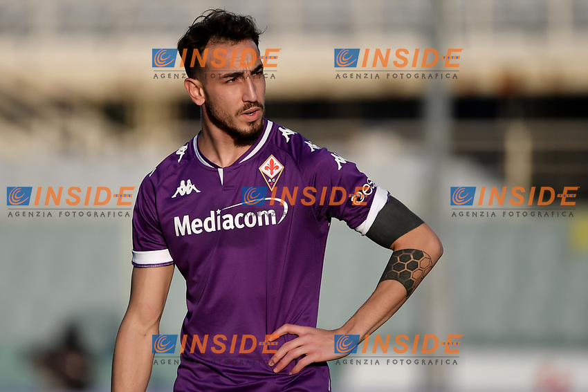 Gaetano Castrovilli of ACF Fiorentina looks on during the Italy Cup round of 16 football match between ACF Fiorentina and FC Internazionale at Artemio Franchi stadium in Firenze (Italy), January 13th, 2021. Photo Andrea Staccioli / Insidefoto