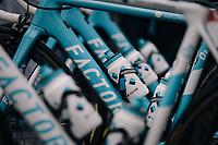the Factor bikes of Team AG2R-LaMondiale<br /> <br /> 104th Tour de France 2017<br /> Stage 2 - Düsseldorf › Liège (203.5km)