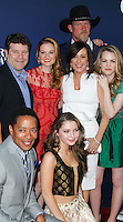 """HOLLYWOOD, LOS ANGELES, CA, USA - APRIL 29: Sean Astin, Sarah Drew, Sammi Hanratty, Patricia Heaton, Trace Adkins, Abbie Cobb at the Los Angeles Premiere Of TriStar Pictures' """"Mom's Night Out"""" held at the TCL Chinese Theatre IMAX on April 29, 2014 in Hollywood, Los Angeles, California, United States. (Photo by Xavier Collin/Celebrity Monitor)"""