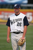 Fort Wayne Wizards Grant Varnell during a Midwest League game at Memorial Stadium on July 17, 2006 in Fort Wayne, Indiana.  (Mike Janes/Four Seam Images)