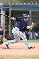 March 20th 2008:  Trevor Crowe of the Cleveland Indians minor league system during Spring Training at Chain of Lakes Training Complex in Winter Haven, FL.  Photo by:  Mike Janes/Four Seam Images