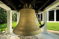 Photography of Charlotte Museum of History.<br /> The American Freedom Bell, located at the Charlotte Museum of History, is a gift from the Belk Foundation to the people of the Carolinas.<br /> <br /> Charlotte Photographer -PatrickSchneiderPhoto.com